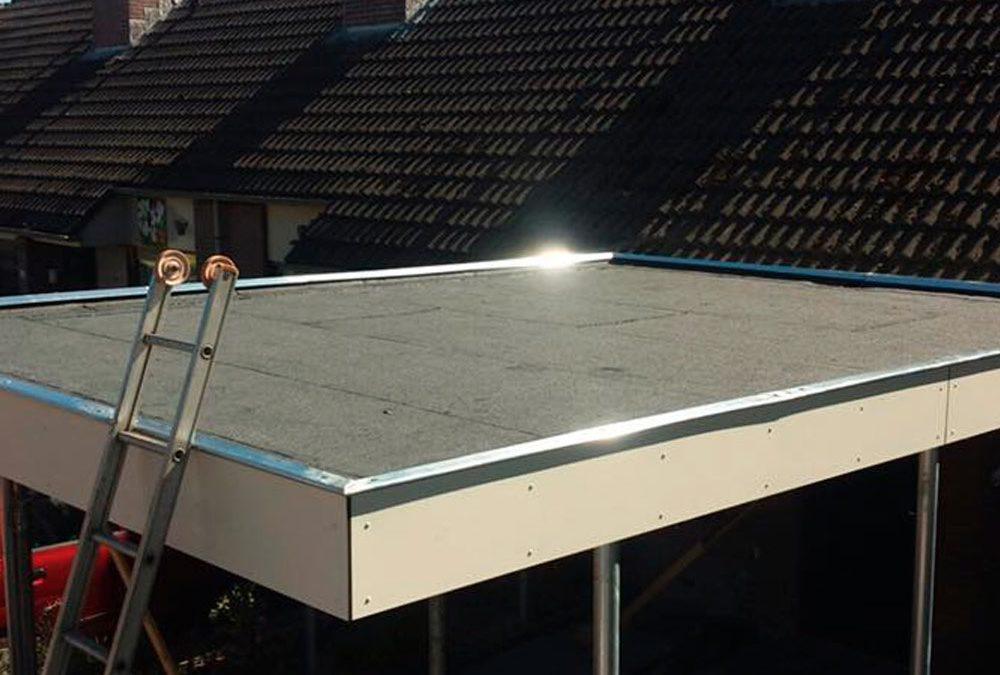 Dakbedekking plat dak