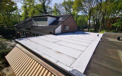 Reflecterende witte dakbedekking